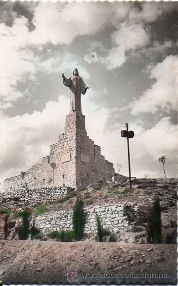 TUDELA - 1 MONUMENTO AL SAGRADO CORAZÓN DE JESÚS (Postales - España - Navarra Moderna (desde 1.940))