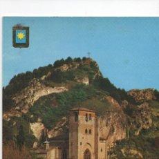 Postales: POSTAL-IGLESIA DE SAN PEDRO DE LA RÜA DE ESTELLA (NAVARRA). Lote 53275532