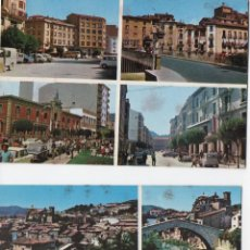 Postales: POSTAL-LOTE DE 2 POSTALES DE ESTELLA (NAVARRA). Lote 53275542