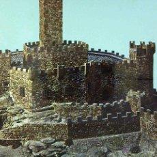Postales: POSTAL, NAVARRA, CASTILLO DE JAVIER, MAQUETA, CIRCULADA. Lote 53326077