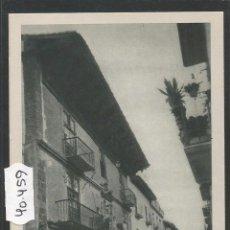 Postales: SANGÜESA - ZANGOZA - CASA DE LAS MARQUESAS - HUECOGRABADO FOURNIER - (40459). Lote 53962628