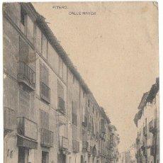 Postales: NAVARRA POSTAL FITERO CALLE MAYOR, ULTRAMARINOS Y FERRETERIA DIONISIO PINA, FOTOTIPIA HAUSER Y MENET. Lote 53964680