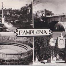 Postales: P- 4100. POSTAL DE PAMPLONA. DIFERENTES VISTAS. Nº4/13. VAQUERO.. Lote 54026504