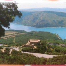 Postales: POSTAL MONASTERIO DE LEYRE. LEIRE. NAVARRA 1993 YESA. Lote 54372231