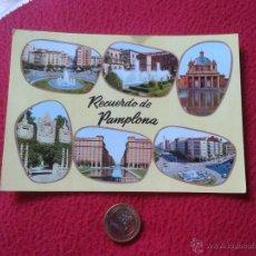 Postales: POSTAL POST CARD VER FOTO/S PAMPLONA NAVARRA RECUERDO. EDICIONES ALARDE. Lote 54723800
