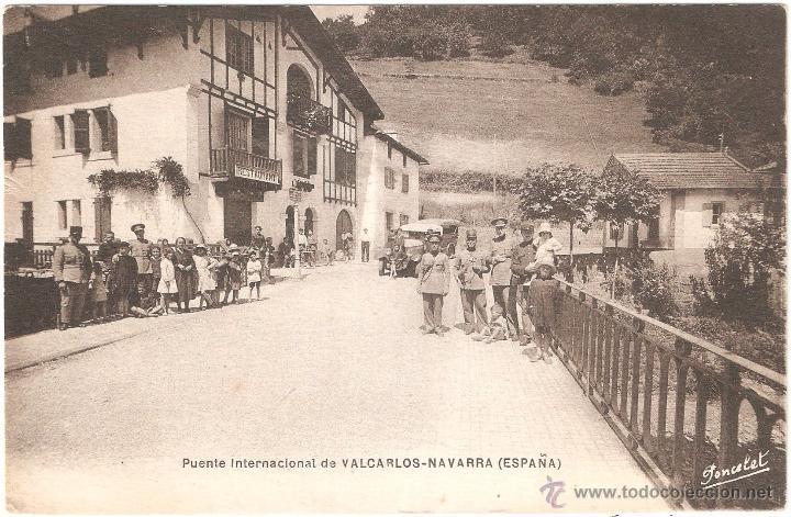 Postales: VALCARLOS PUENTE INTERNACIONAL NAVARRA - Foto 2 - 54835342
