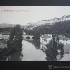 Postales: POSTAL NAVARRA. PAMPLONA. PUENTE DE ROCHAPEA. . Lote 54864421
