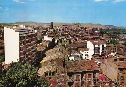 NAVARRA TUDELA VISTA GENERAL. ED. PARIS 202. AÑO 1965. SIN CIRCULAR (Postales - España - Navarra Moderna (desde 1.940))