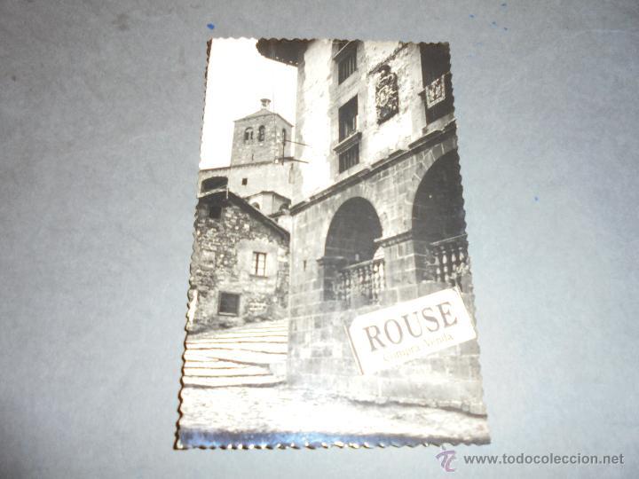 RONCAL - 4 CASA DE LOPEZ , AL FONDO IGLESIA EDC. SICILIA 14X9 CM. CIRCULADA 1959 (Postales - España - Navarra Moderna (desde 1.940))