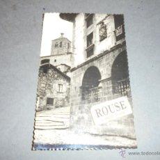 Postales: RONCAL - 4 CASA DE LOPEZ , AL FONDO IGLESIA EDC. SICILIA 14X9 CM. CIRCULADA 1959 . Lote 54882374