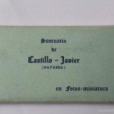 Postales: BP-72. SANTUARIO DE CASTILLO - JAVIER (NAVARRA). CUADERNILLO 10 FOTOS MINIATURA. EDICIONES MANIPEL.. Lote 55819576