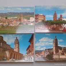 Postales: LOTE DE 4 POSTALES DE LOS ARCOS. NAVARRA.. Lote 56736230