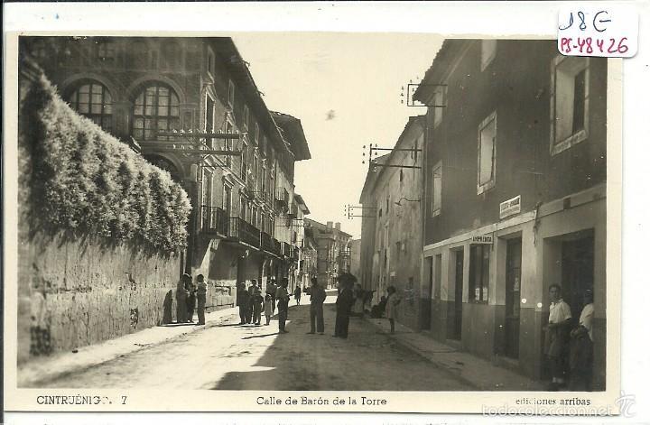 (PS-48426)POSTAL DE CINTRUENIGO-CALLE DE BARON DE LA TORRE (Postales - España - Navarra Moderna (desde 1.940))