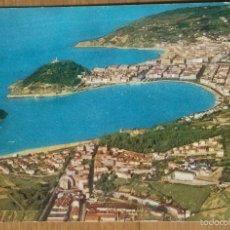 Postales: SAN SEBASTIAN - VISTA AEREA - POSTAL DE IBERIA. Lote 57119113