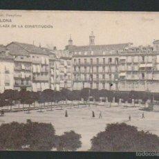 Postales: PAMPLONA.PLAZA DE LA CONSTITUCIÓN.ED.EUSEBIO RUBIO.SIN CIRCULAR. Lote 57484272