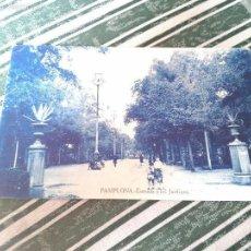 Postales: ANTIGUA POSTAL DE PAMPLONA SIN CIRCULAR. VER REVERSO. (NAVARRA). Lote 57969454