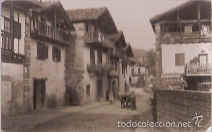 ANTIGUA POSTAL VERA DE BIDASOA NAVARRA BARRIO ILLECUESTA ESCRITA 1965 EDIC RADA (Postales - España - Navarra Moderna (desde 1.940))