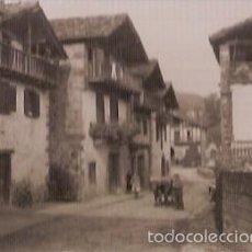 Postales: ANTIGUA POSTAL VERA DE BIDASOA NAVARRA BARRIO ILLECUESTA ESCRITA 1965 EDIC RADA. Lote 57980753