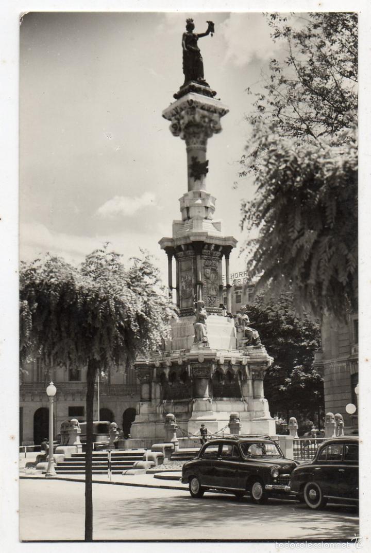 PAMPLONA MONUMENTO A LOS FUEROS. (Postales - España - Navarra Moderna (desde 1.940))