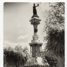 Postales: PAMPLONA MONUMENTO A LOS FUEROS.. Lote 58065078