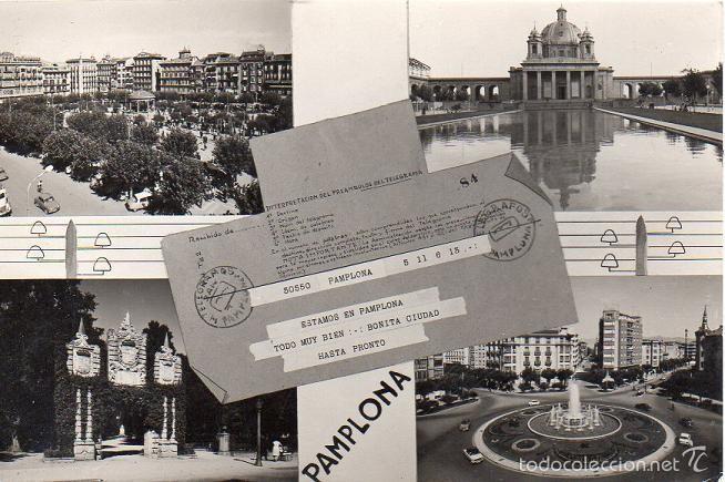 PAMPLONA - 26 VISTAS DIVERSAS (Postales - España - Navarra Moderna (desde 1.940))