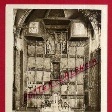 Postales: POSTAL OLITE, NAVARRA, ALTAR MAYOR DE LA IGLESIA DE SANTA MARIA, P83642. Lote 58141673