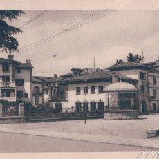 Postales: POSTAL 228 ELIZONDO.- PLAZA DE LOS FUEROS. FOTO PAISAJISTA ANTONIO OLLETA LUQUIN. CIRCULADA.. Lote 58230410