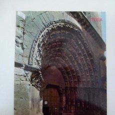 Postales: CATEDRAL PUERTA DEL JUICIO. TUDELA. Lote 58277945