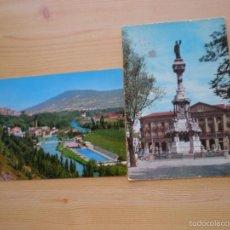 Postales: DOS POSTALES DE PAMPLONA - AÑOS 60. Lote 58340701