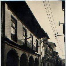 Postales: POSTAL SANGUESA ARCADAS Y CALLE MAYOR ED. SICILIA N° 16 NAVARRA. Lote 58392732