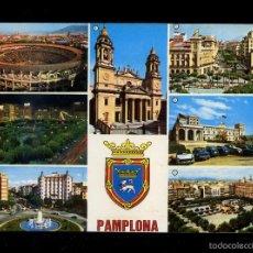 Postales: PAMPLONA. ED. MANIPEL Nº 22. CIRCULADA.. Lote 58451666