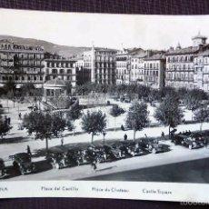 Postales: PAMPLONA. PLAZA DEL CASTILLO.. Lote 58496778