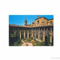 Postales: POSTAL ANTIGUA NAVARRA SIN CIRCULAR PAMPLONA CATEDRAL CLAUSTRO. Lote 58685889