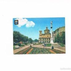 Postales: POSTAL ANTIGUA NAVARRA SIN CIRCULAR PAMPLONA MONUMENTO A LA INMACULADA Y PARROQUIA DE SAN LORENZO. Lote 58685921