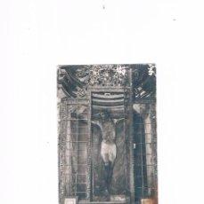 Postales: POSTAL ANTIGUA NAVARRA SIN CIRCULAR CASTILLO DE JAVIER CAPILLA DEL SANTO CRISTO. Lote 58685945