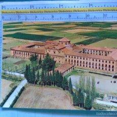 Postales: POSTAL DE NAVARRA. AÑO 1979. MARCILLA, VISTA AEREA DEL MONASTERIO DE NUESTRA SEÑORA DE LA BLANCA 679. Lote 60545999