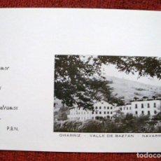 Postales: COLECCIÓN FOTO POSTAL OHARRIZ-VALLE DE BAZTAN-NAVARRA RELIGIOSA. Lote 62394568
