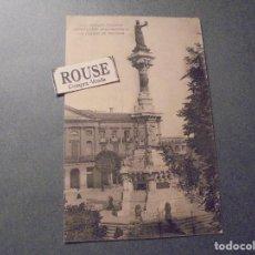 Postales: PAMPLONA - MONUMENTO Á LOS FUEROS DE NAVARRA , VIUDA DE RUBIO PAMPLONA POSTAL CIRCULADA . Lote 63926463
