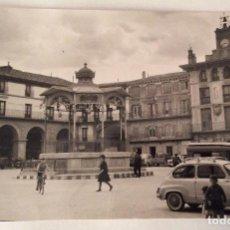 Postales: POSTAL FOTOGRÁFICA. KIOSCO. PLAZA DE LOS FUEROS. TUDELA. NAVARRA.. Lote 64068911