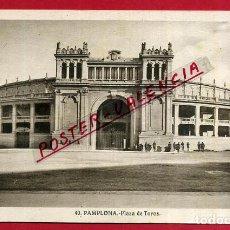 Postales: POSTAL PAMPLONA, NAVARRA, PLAZA DE TOROS, P84525. Lote 65664730