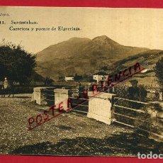 Postais: POSTAL SANTESTEBAN, NAVARRA, CARRETERA Y PUENTE DE ELGORRIAGA, P84530. Lote 65664818