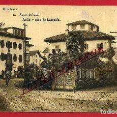 Postais: POSTAL SANTESTEBAN, NAVARRA, ASILO Y CASA DE LARREGLA, P84532. Lote 65669582