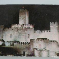 Postales: ANTIGUA POSTAL CASTILLO DE JAVIER MONASTERIO LEYRE NAVARRA – AÑOS 60 – CIRCULADA BUEN ESTADO. Lote 65728238