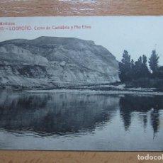 Postales: LOGROÑO. CERRO DE CANTABRIA Y RIO EBRO. (LIBRERIA MODERNA Nº20).. Lote 66013122