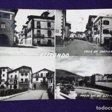 Postales: POSTAL DE ELIZONDO (NAVARRA). CUATRO VISTAS. AÑOS 50.. Lote 66016346