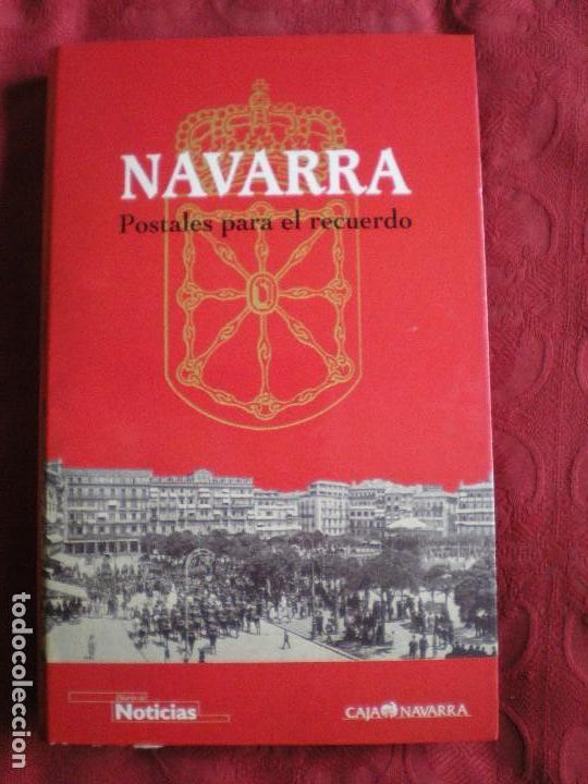 Postales: NAVARRA. POSTALES PARA EL RECUERDO. COLECCIÓN COMPLETA. - Foto 2 - 258014865