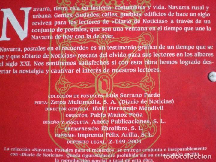 Postales: NAVARRA. POSTALES PARA EL RECUERDO. COLECCIÓN COMPLETA. - Foto 7 - 258014865