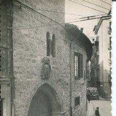 Postales: PAMPLONA -CASA DE LOS COMPTOS REALES-MONUMENTO NACIONAL- RARA. Lote 66997378