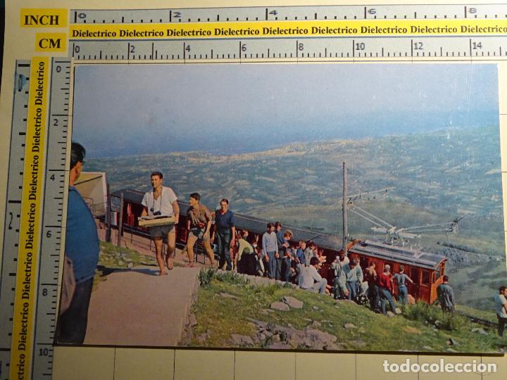POSTAL DE NAVARRA. AÑO 1962. MONTE LARUN VERA DE BIDASOA, LLEGADA DEL TREN. 685 (Postales - España - Navarra Moderna (desde 1.940))