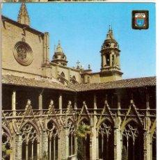 Postales: PAMPLONA CLAUSTROS CATEDRAL ESCRITA NO CIRCULADA DOMINGUEZ Nº 47. Lote 68725837